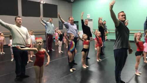 Peewees dads ballet