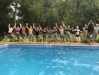 Teens - pool party
